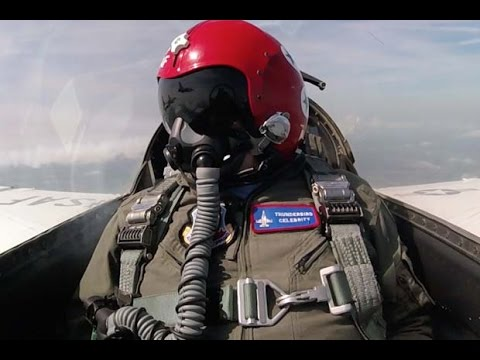 Buzz Aldrin Soars Over Apollo Launch Pad In Thunderbirds Jet | Video