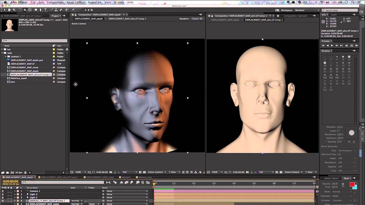 Build Me Some Hope: Create A Displacement Map With Cinema 4D