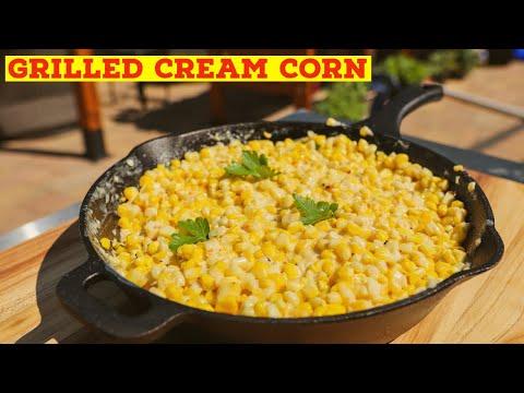 bbq-side-dishes-|-grilled-cream-corn-recipe