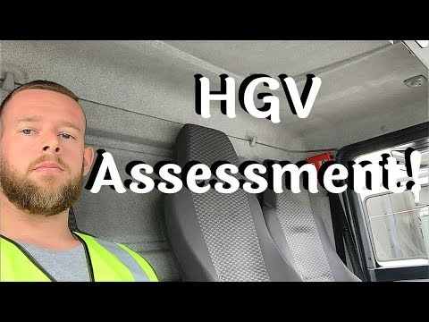 HGV Assessment | What To Expect | HGV Training Part 6.