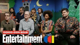 'What We Do in the Shadows' Cast Joins Us LIVE | SDCC 2019 | Entertainment Weekly