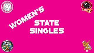 2016 Qld 8 Ball Womens State Singles Round Robin AM