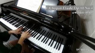 쇼팽 추격 / F.Chopin Etude Op.10 No.4 (연주:행복한 예술가)