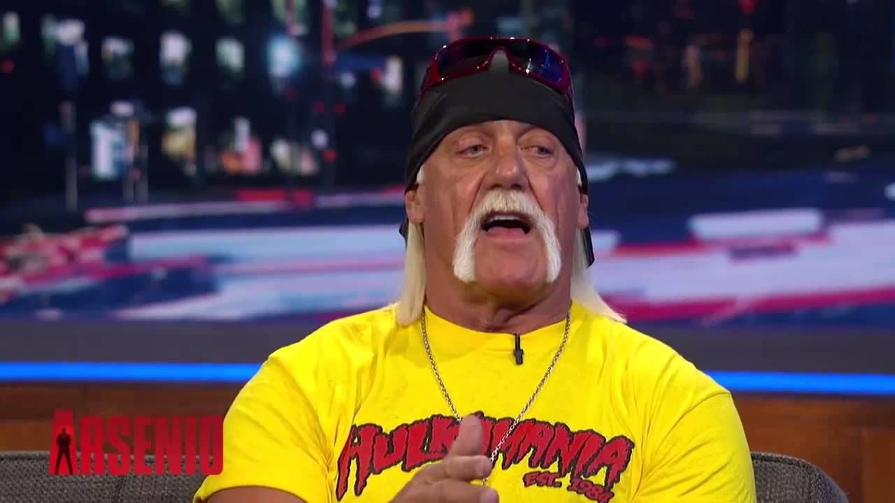 Hulk Hogan on The Arsenio Hall Show part.1 28.03.2014