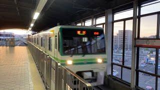【仙台市地下鉄】南北線1000系1116F 富沢行き@八乙女
