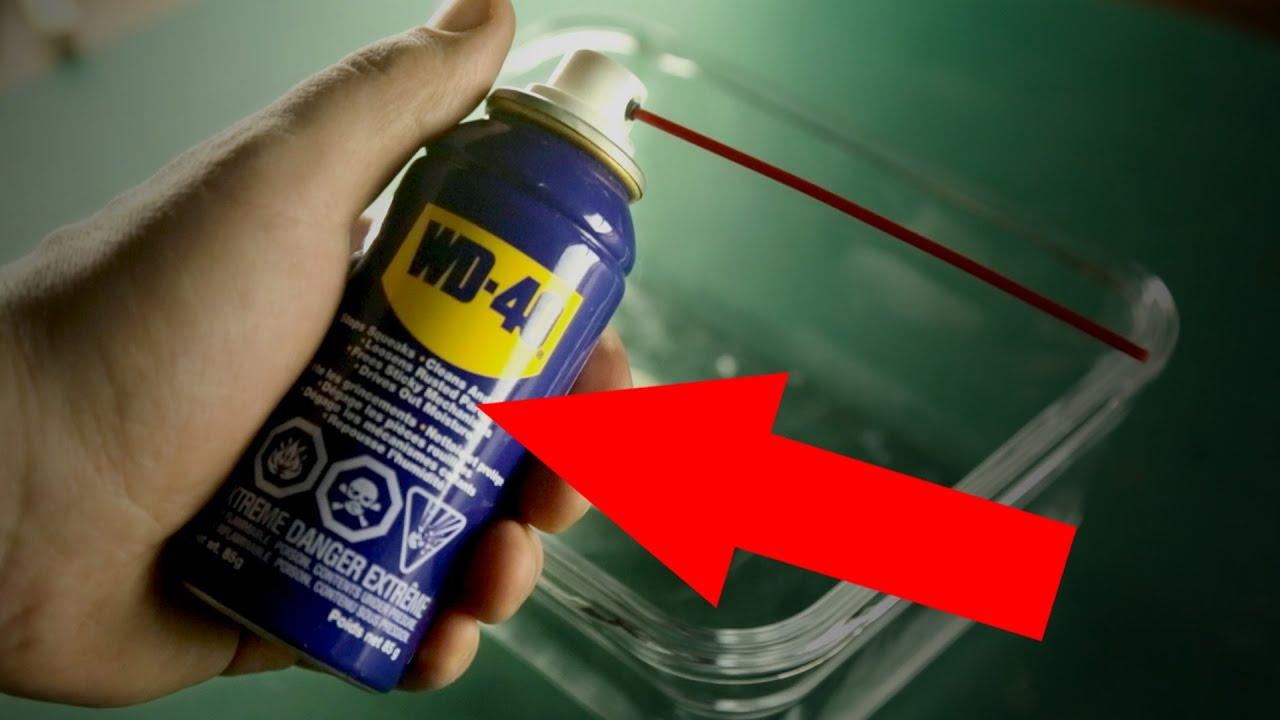 Jak wykorzystać WD-40 na 10 zaskakujących sposobów