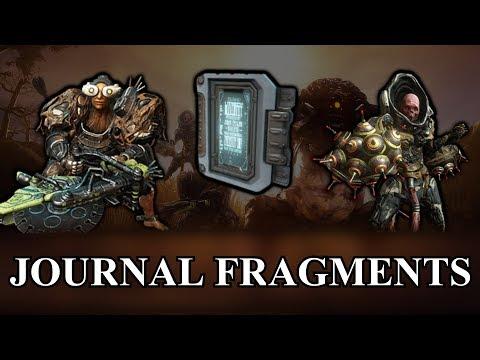 Warframe -  Encrypted Journal Fragments (All Hidden Messages)