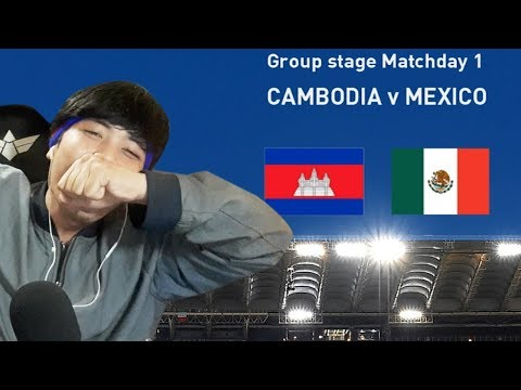 Cambodia VS Mexico (FIFA World Cup) / Part  1 /KH Daily Game