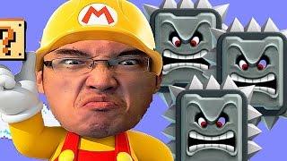 Super Mario Maker FR   RAGE EXTRÊME! NE METTEZ PAS VOTRE CASQUE D'ÉCOUTE!