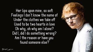 Ed Sheeran - Way To Break Your Heart (Lyrics) feat. Skrillex