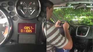 Peugeot 206+ : Comment supprimer la clef de vidange sur le compteur d'une Peugeot 206+