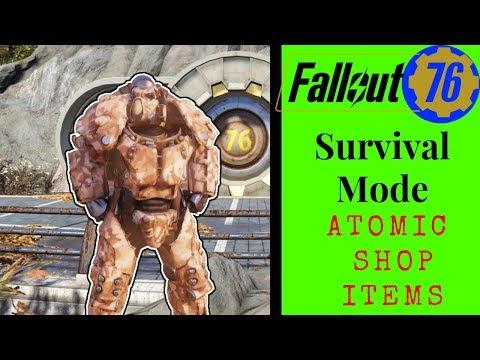 Fallout 76 Survival Mode (Atomic Shop) thumbnail