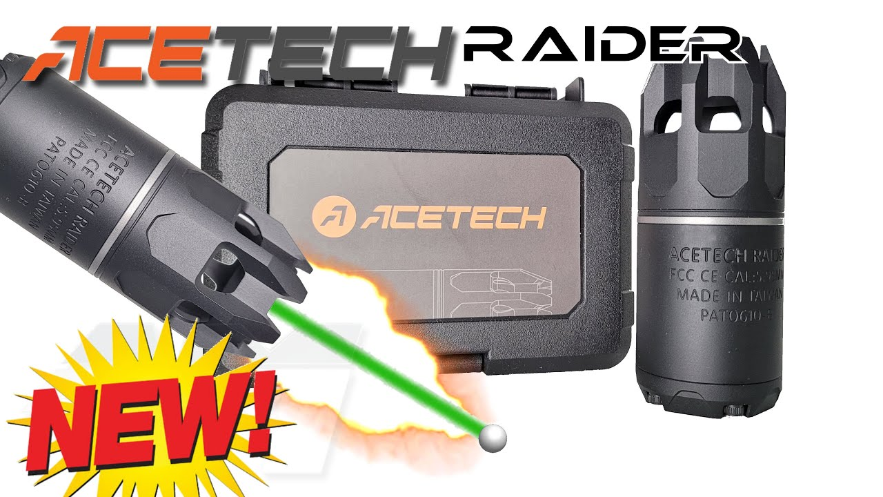 ACETECH RAIDER / NEW BB & GEL TRACER