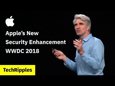 Apple's New Security Enhancement for macOS and iOS - WWDC 2018