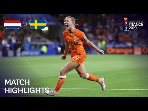 Netherlands V Sweden - FIFA Women's World Cup France 2019™