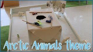 Toddler and Preschool Arctic Animals Theme Ideas