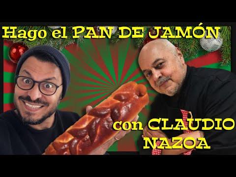 Como hacer el verdadero pan de jamón de Claudio Nazoa...