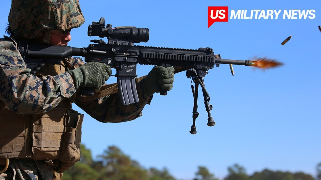 Here's Why the US Marines Love the M27 Infantry Automatic Rifle