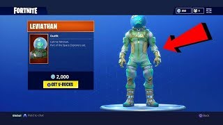 FORTNITE | NEW LEVIATHAN SKIN + PLANETARY PROBE SHOWCASE