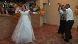 Супер-подарок к 40-летию со дня свадьбы от невесты!