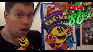 Irate the 80s - Colorforms (Ep 10 History & Review) Pac-Man