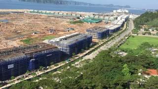 Thành Phố Hạ Long, đại công trường khu Bãi Cháy, Quảng Ninh ngày 20.06.2018