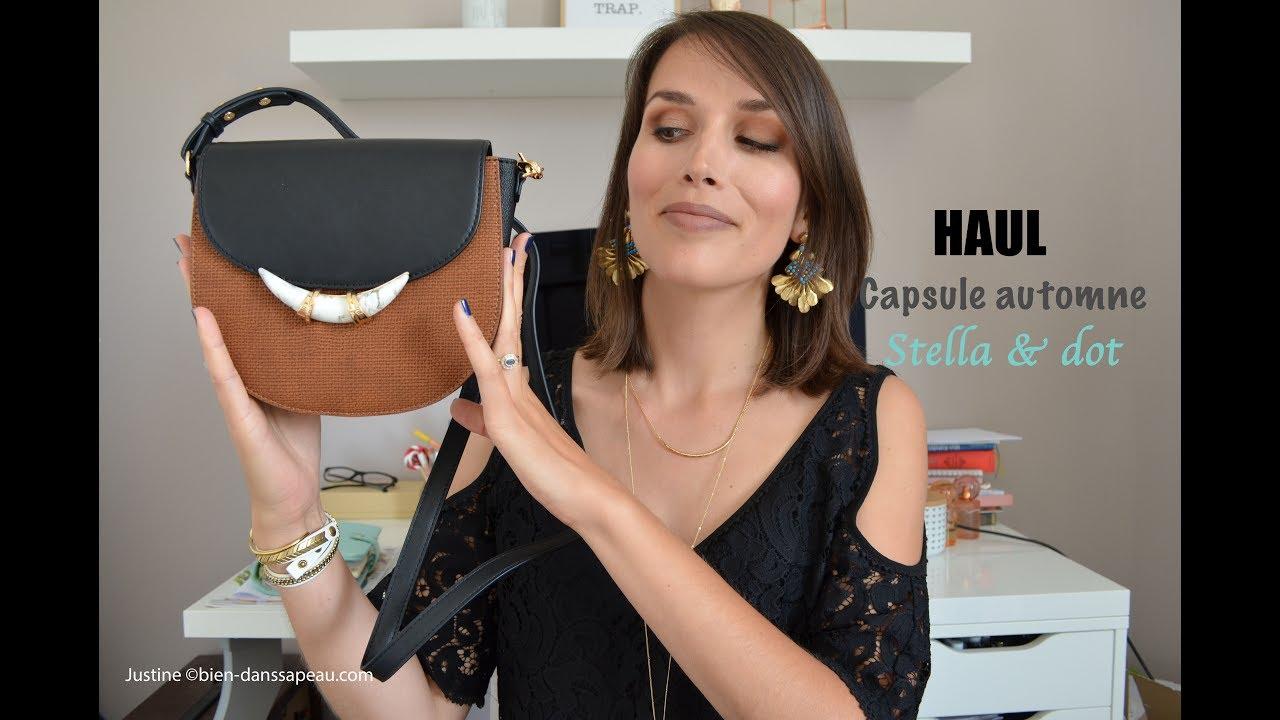 a793159540 HAUL 2017 Stella sac dot amp; collection bijoux capsule automne et StzqxwrvS
