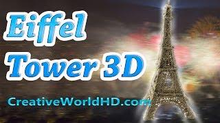 How To Make Eiffel Tower - 3d Printing Pen Creations/scribbler Diy Tutorial