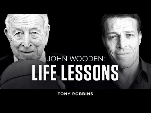 The Legendary John Wooden | Tony Robbins Podcast