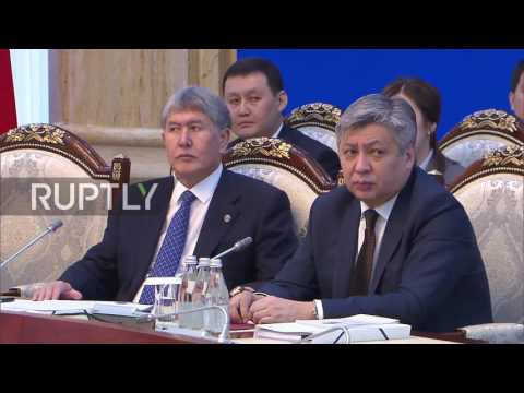 Kyrgyzstan: Moldova granted observer status in Eurasian Economic Union