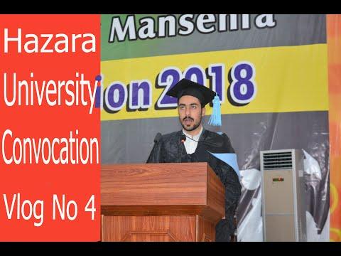 Hazara University 10th Convocation Mansehra Pakistan 2018