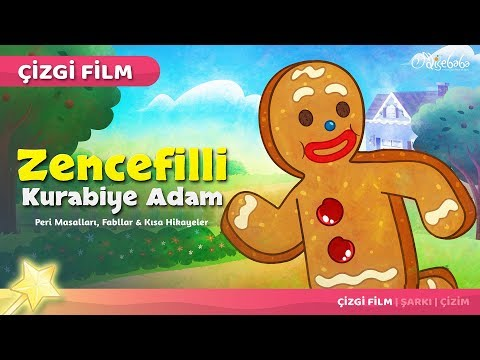 Zencefilli Kurabiye Adam çizgi film masal 32 - Adisebaba Çizgi Film Masallar