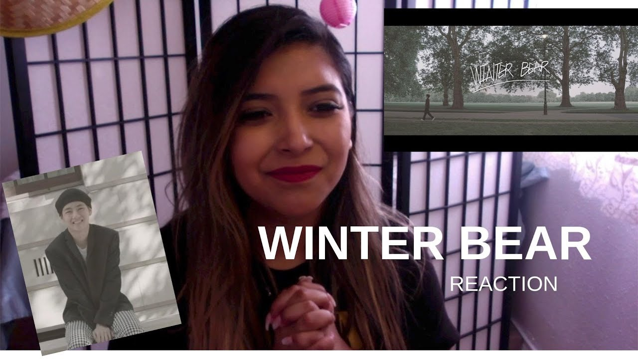 bts winter bear by v reaction youtube. Black Bedroom Furniture Sets. Home Design Ideas