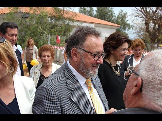 Declaraciones de Joaquín Villanova durante la visita bda. El Peñón