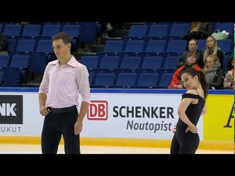 Daria Danilova & Michel Tsiba - 2019 Finlandia Trophy FS