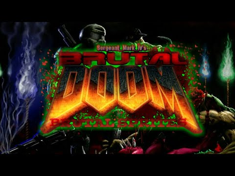 Brutal Sprites For BD21 Doom touch/Gzdoom apk/Delta Touch FIST RELEASE