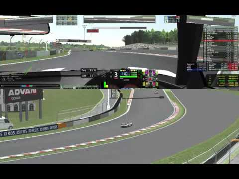 #rFactor2 kamakura-server 2016-08-13 Honda NSX@Fuji International Speedway