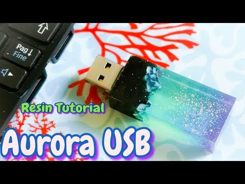Aurora Usb resin tutorial - August premium elves box  by Sophie and Toffee (progetto 1)