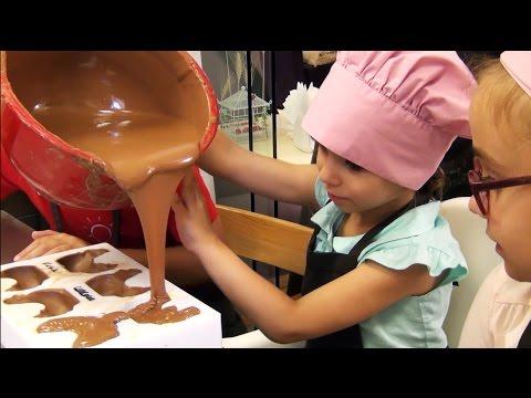 Детский шоколадный мастер класс в Белгороде.