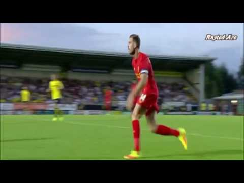Jordan Henderson (Liverpool) vs Burton Albion (A) (16/17)