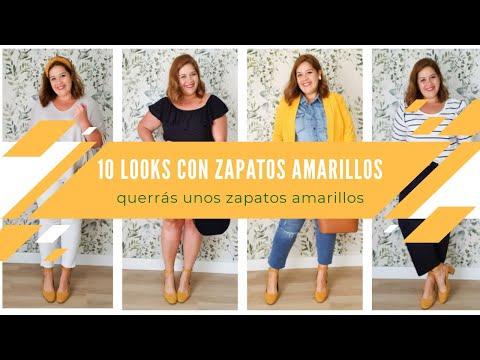 BatchLooking · 10 looks con zapatos amarillos