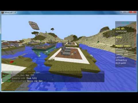 Minigame server Việt Nam • Speed Builder cùng thằng bạn mặt gấu :))