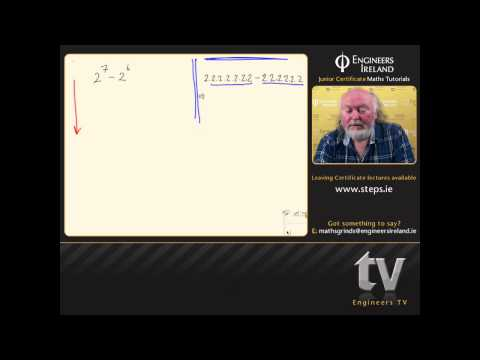 Indices and Surds - Junior Certificate Maths Tutorial