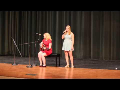 Maddie singing Hallelujah Dublin Scioto Talent Show