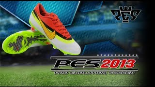 NEW CR7 BOOTS Nike Mercurial Vapor IX CR7 - Edition Spring / Summer 2013 and boots pack PES 13