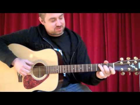Learn How to Play: Fast Car - Tracy Chapman - NYC Guitar School Lesson