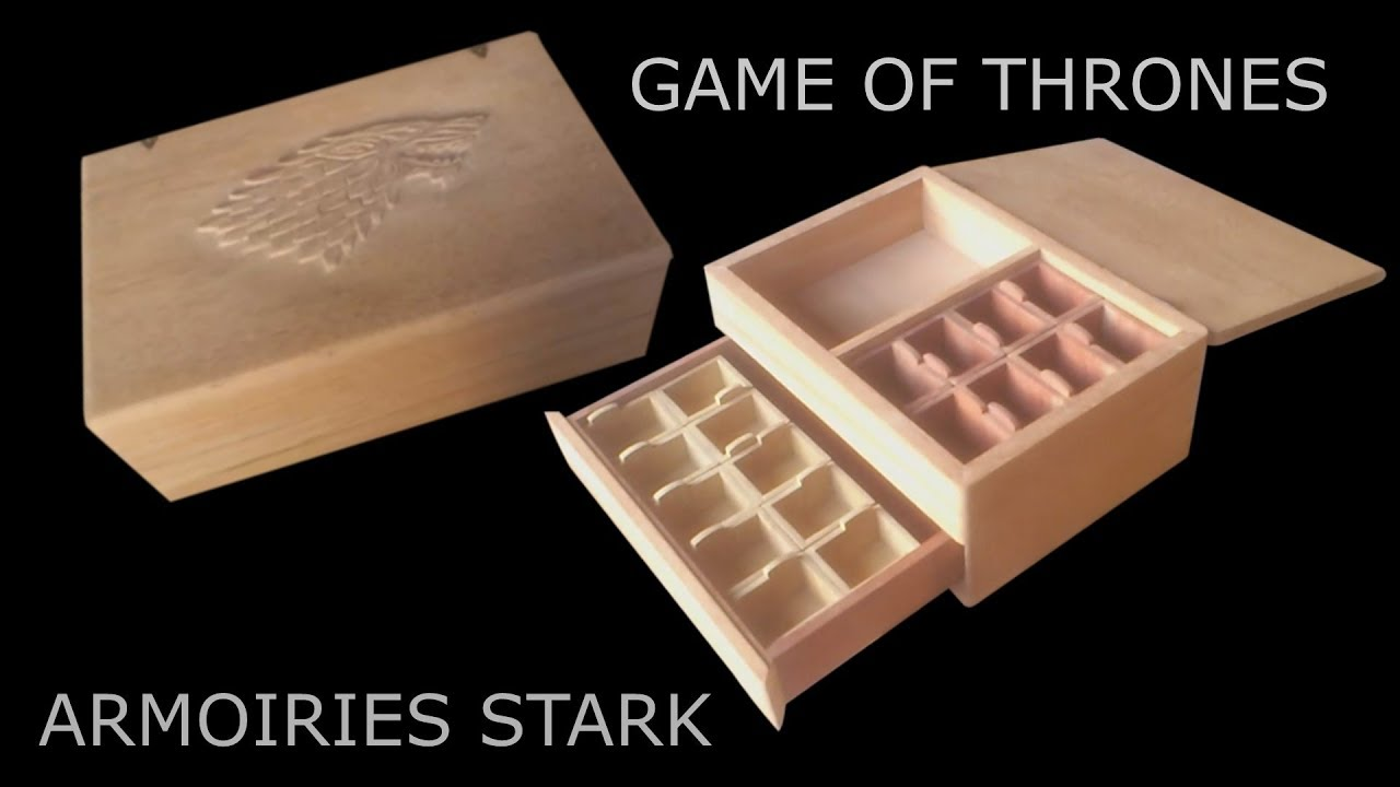 game of thrones boite bijoux game of thrones jewelry. Black Bedroom Furniture Sets. Home Design Ideas