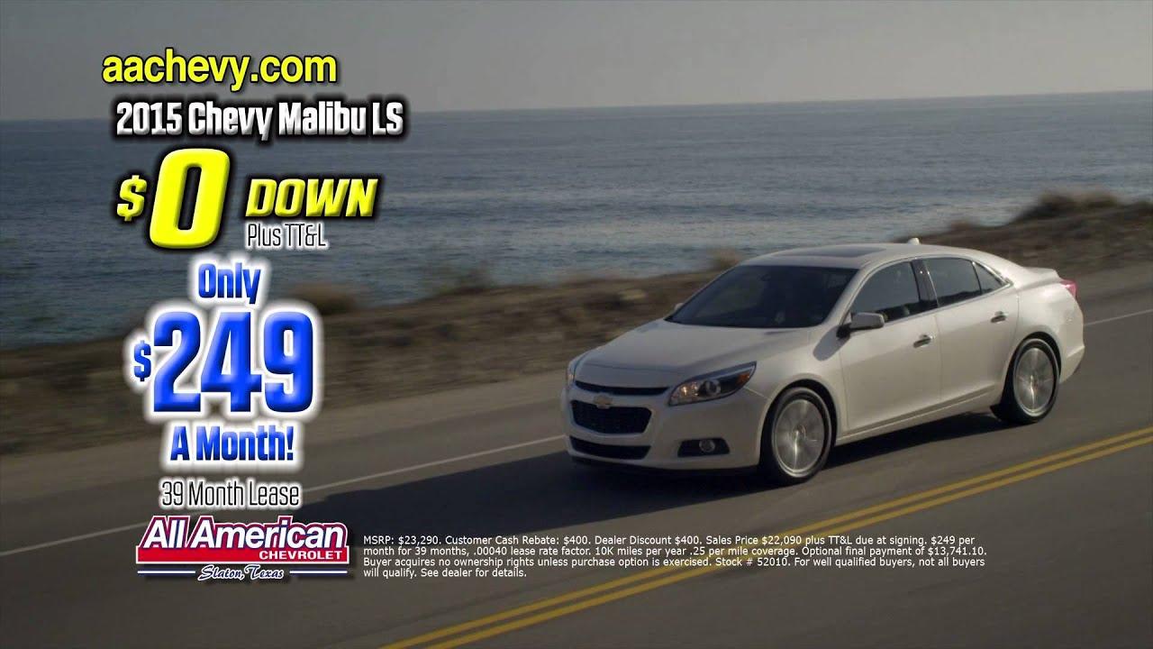 All American Chevrolet ZERO DOWN