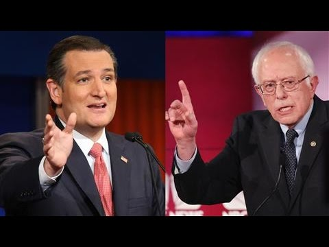 Image result for free to use image of bernie sanders and ted cruz together