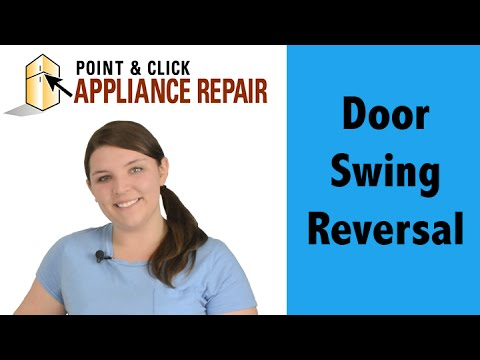 How to reverse a door on a whirlpool duet dryer youtube.